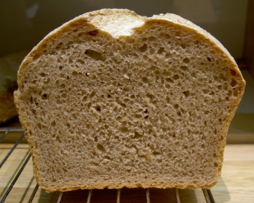 sandwich sourdough crumb
